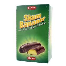 Carletti Skum Bananer  450g