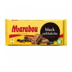Marabou Black Salzlakritz 180g